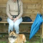 Mijn moeder met Raena