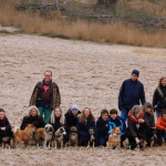 Groepsfoto Wandeling Herperduin met 17 prachtige IJsco's met hun baasjes!